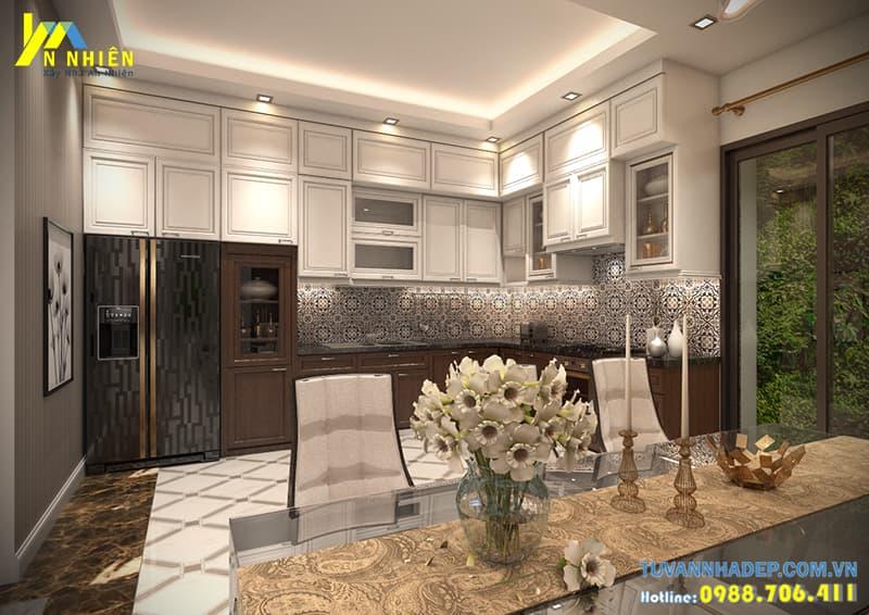 Đồ nội thất hiện đại tạo phòng bếp hiện đại tiện nghi