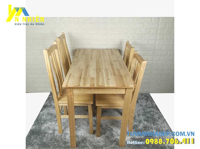 hình ảnh bàn đẹp bằng gỗ ghép