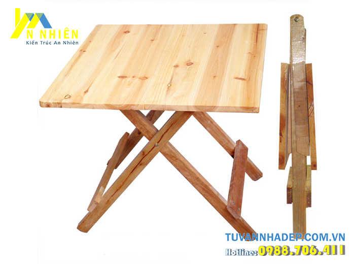 bàn nhỏ bằng gỗ ghép