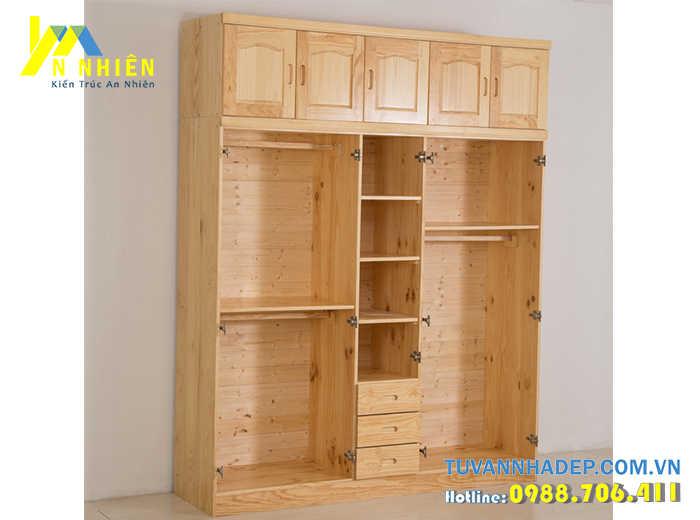 tủ bằng gỗ ghép