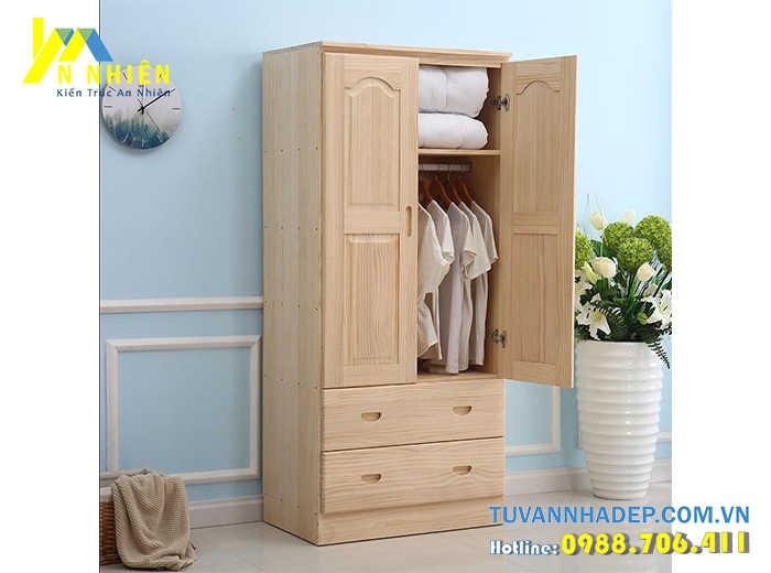 tủ áo bằng gỗ ghép