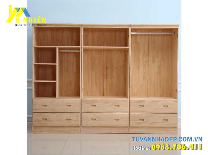 mẫu tủ bằng gỗ ghép