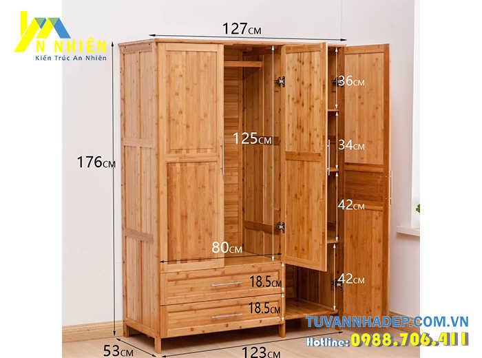 gỗ ghép làm tủ áo