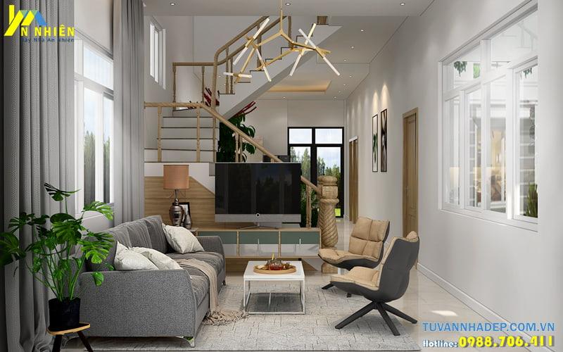 Thiết kế nội thất nhà phố 4 tầng 5x10m