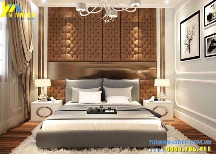 Trang trí phòng ngủ đẹp sang trọng