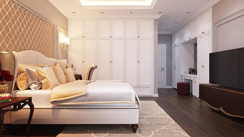 Trang trí nội thất tiện nghi cho phòng ngủ