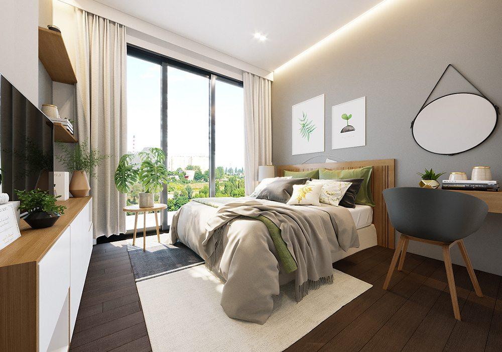 Thiết kế nội thất nhà phố mặt tiền 5m