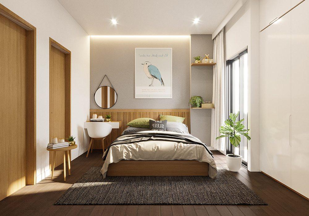 Trang trí nội thất nhà phố mặt tiền 5m