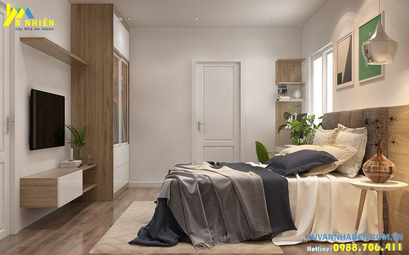 Bài trí nội thất phòng ngủ hài hòa với diện tích nhỏ