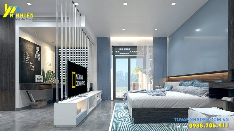 Thiết kế phòng ngủ nhà phố 120m2 sàn