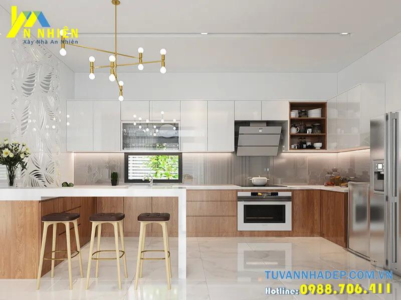 trang trí nội thất bếp