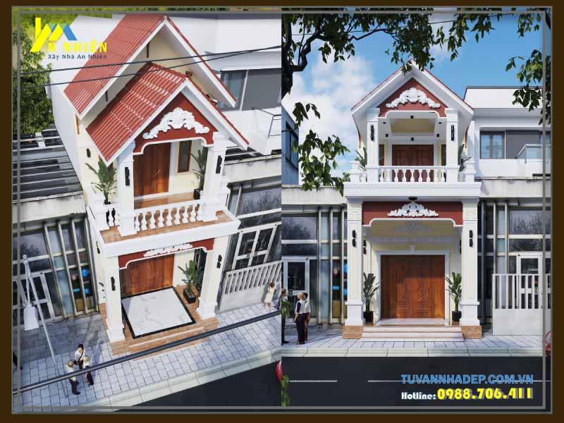 Nhà Phố Đẹp 2 Tầng 5x20m