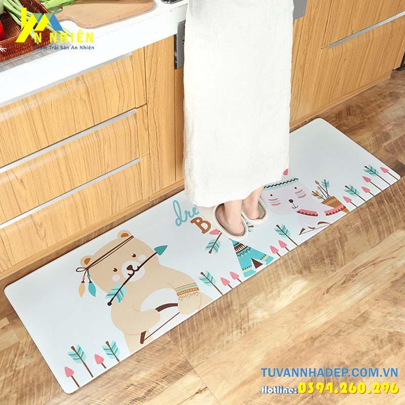 thảm trải sàn cho phòng bếp