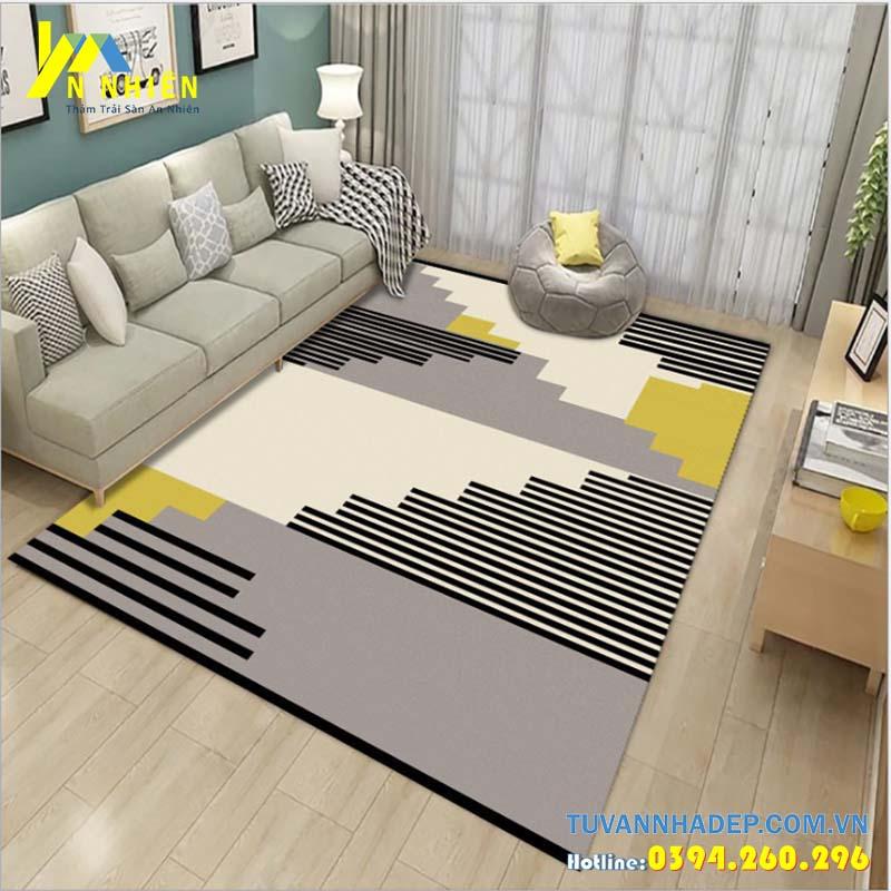 trang trí nhà ở bằng thảm trải sàn