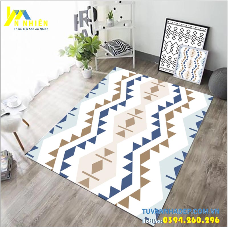thảm trải sàn cho chung cư phòng khách