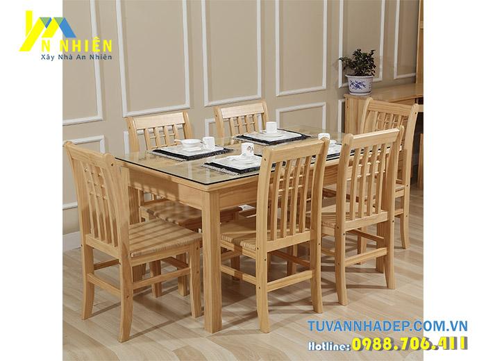 ghế ăn đẹp bằng gỗ tự nhiên