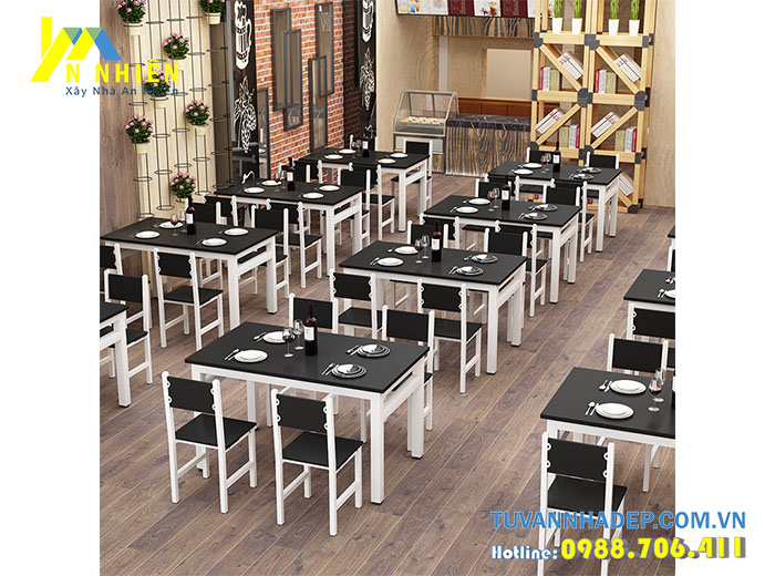 bộ ghế bàn ăn cho nhà hàng