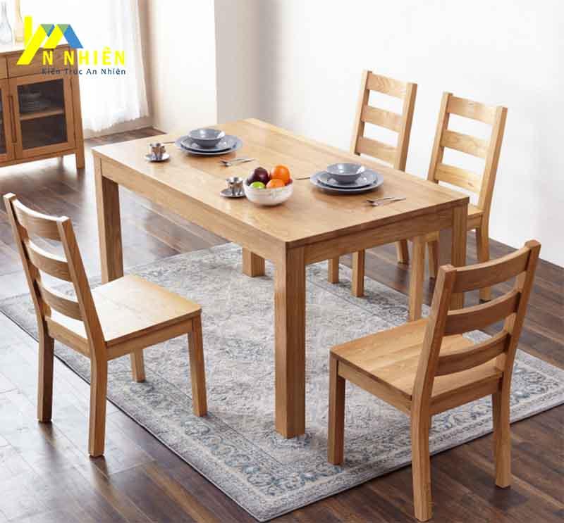 mẫu bàn ghế ăn đơn giản