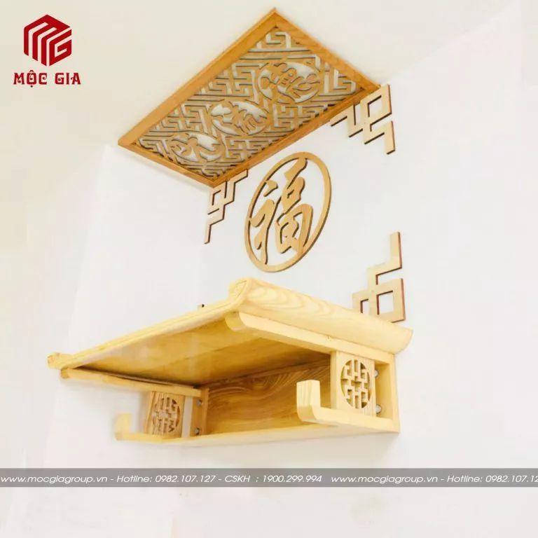Treo bàn thờ đúng hướng phong thủy