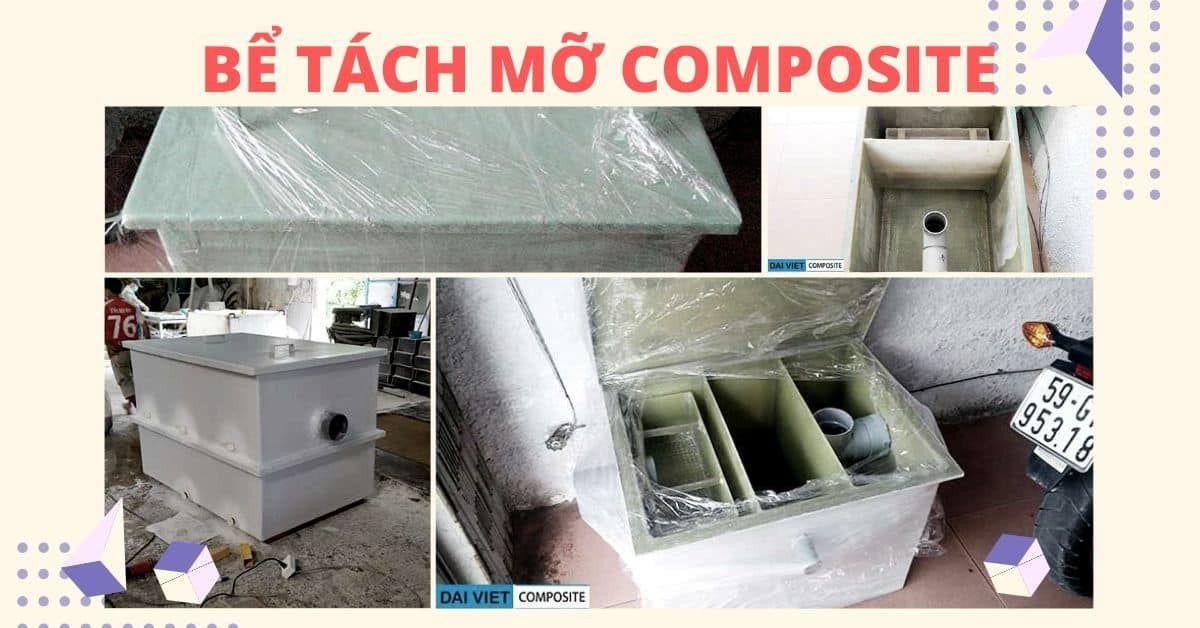 Bể tách mỡ Composite