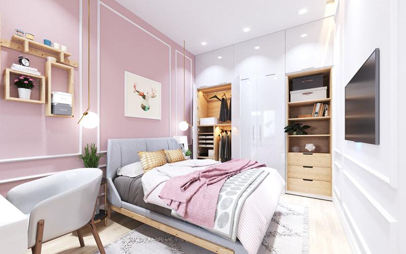 Trang trí phòng ngủ con gái