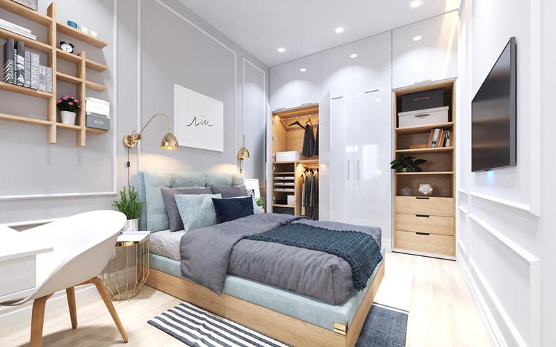 Phòng ngủ bé trái
