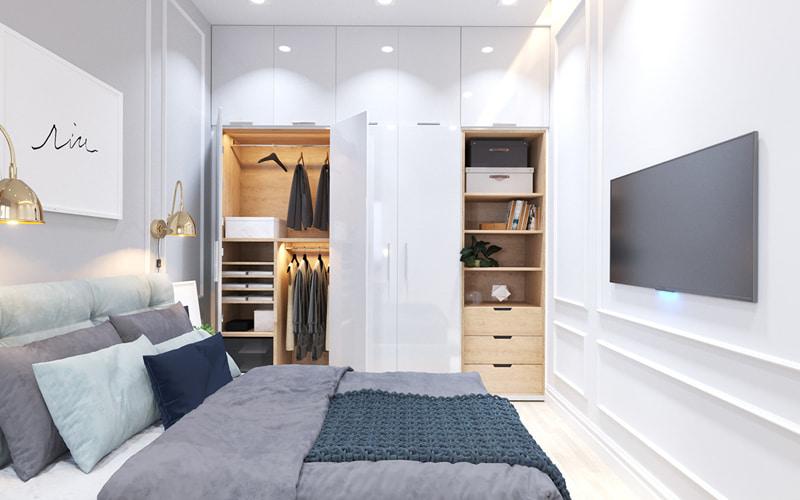 Thiết kế nội thất biệt thự 105m2