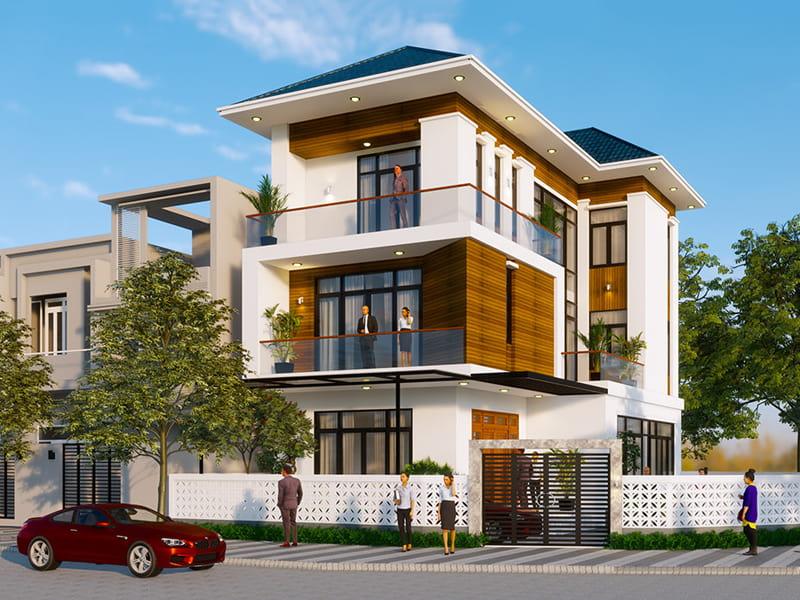 Thiết kế nhà tối giản