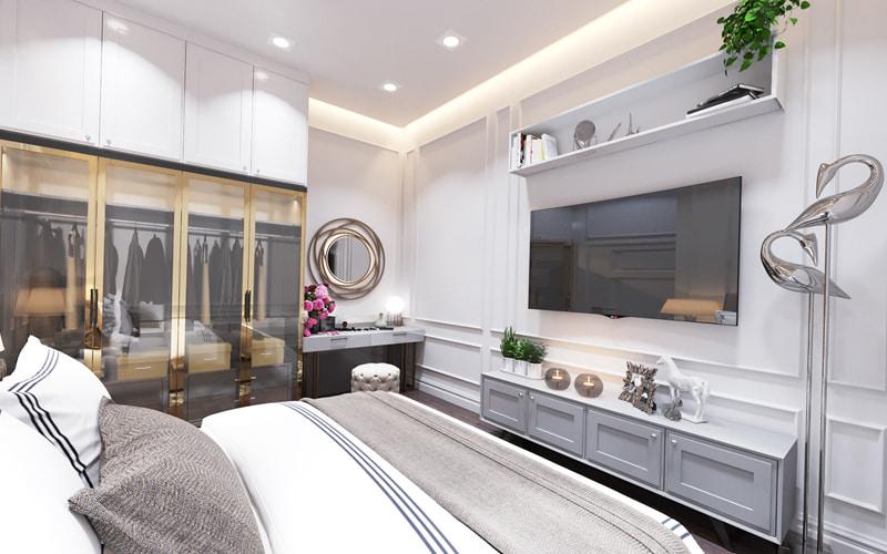 Phòng ngủ lớn đầy đủ tiện nghi