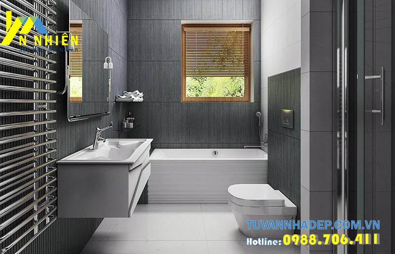 không gian phòng tắm hiện đại