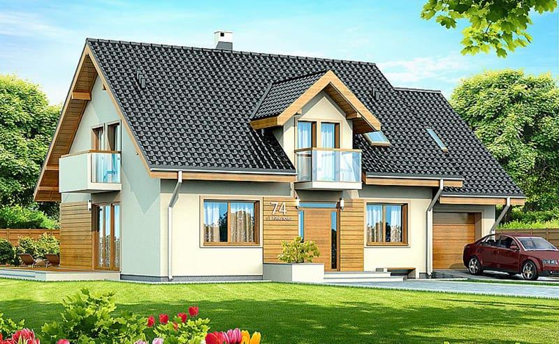 Thiết kế nhà cấp 4 phong cách Châu Âu