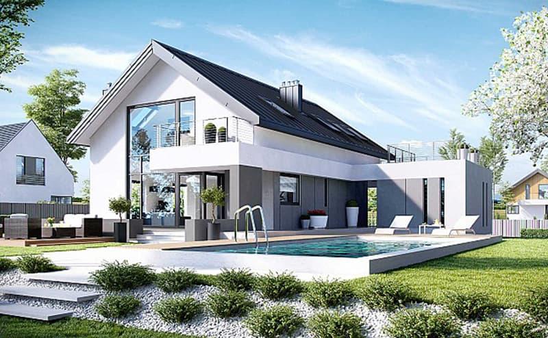 Ngôi nhà đẹp 1 tầng