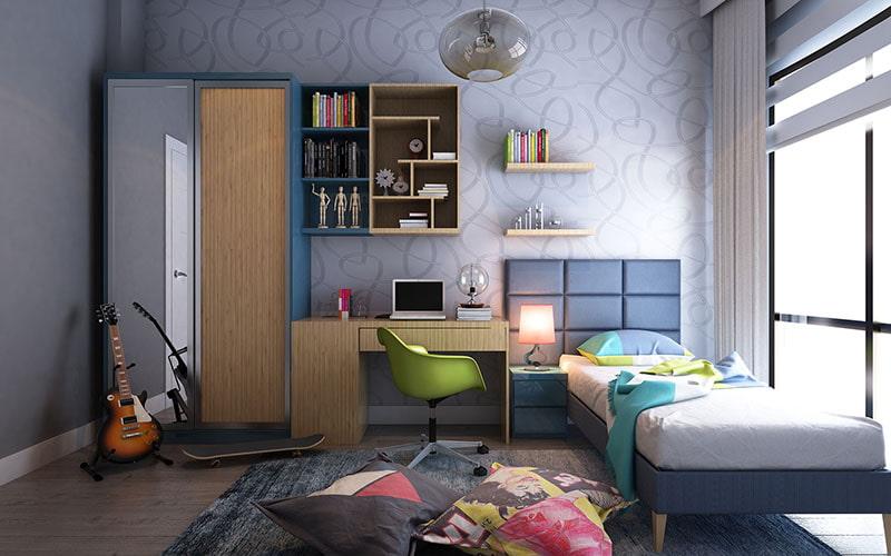 Trang trí phòng ngủ bé gái