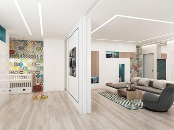 Cách bố trí nội thất chung cư 1 phòng ngủ