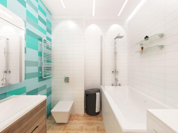 Nhà tắm gọn gàng ngăn nắp