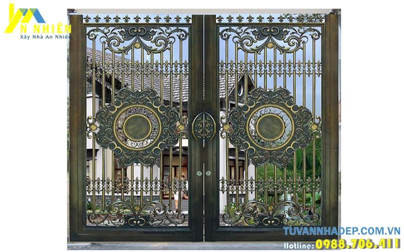 cổng đúc đồng