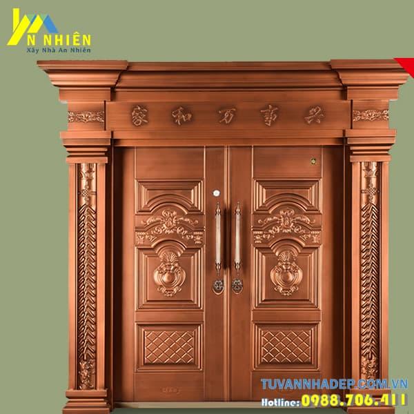 cửa gỗ lim chắc chắn giá trị kinh kế cao