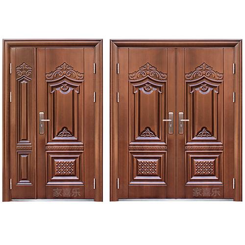 cửa 2 cánh được trang trí đẹp