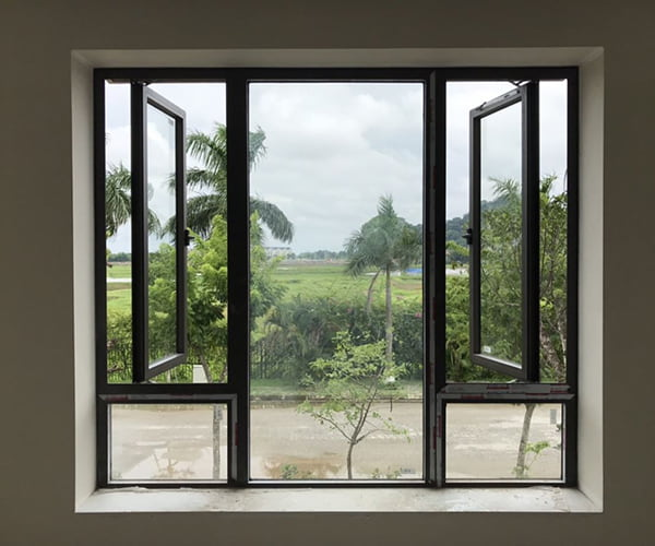 cửa sổ xingfa mở quay