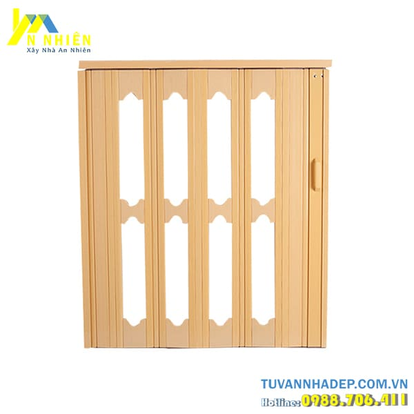 mẫu cửa kéo nhựa giả gỗ