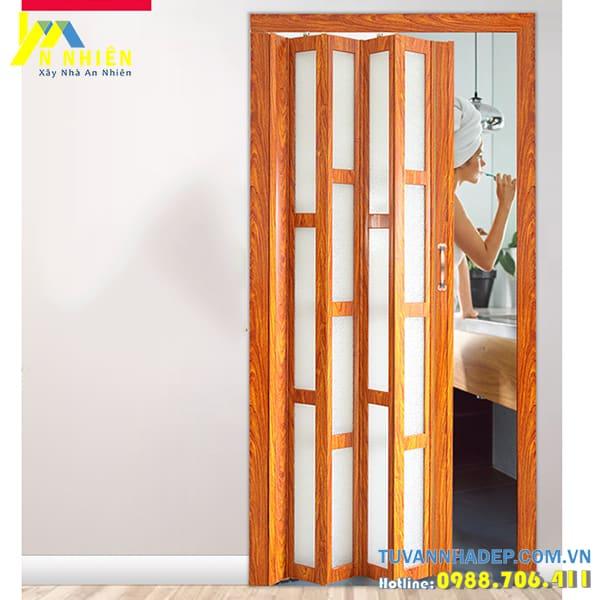 cửa được sử dụng cho các công trình phụ bởi chi phí thấp và tiện lợi