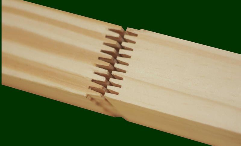 gỗ ghép mộng nằm
