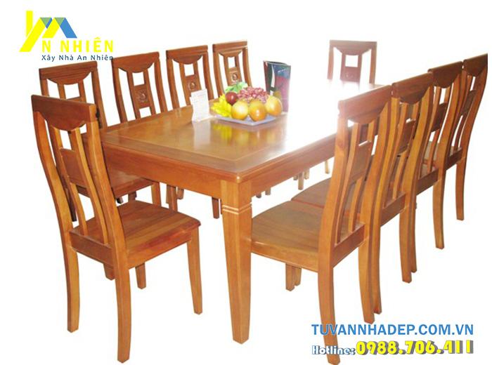 ghế bàn ăn 8 người