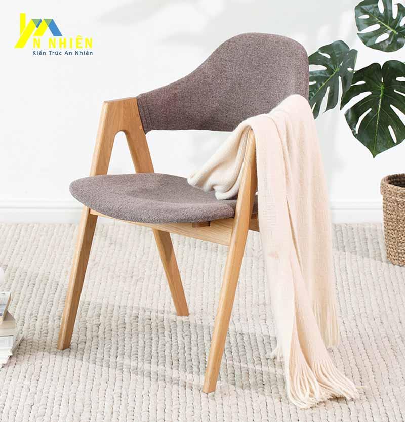 mẫu ghế gỗ cho quán cà phê nhỏ gọn