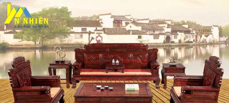 ghế gỗ gõ đỏ