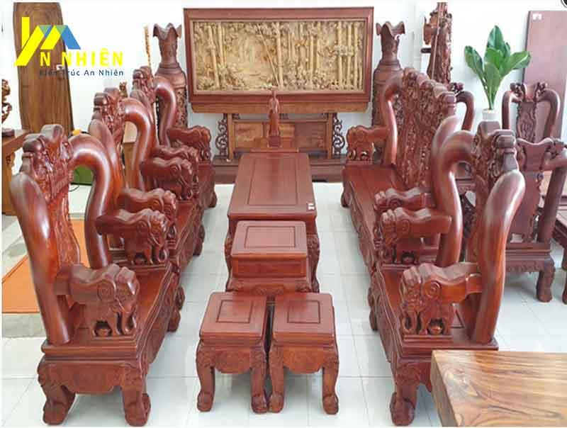 mẫu ghế gỗ hương sang trọng
