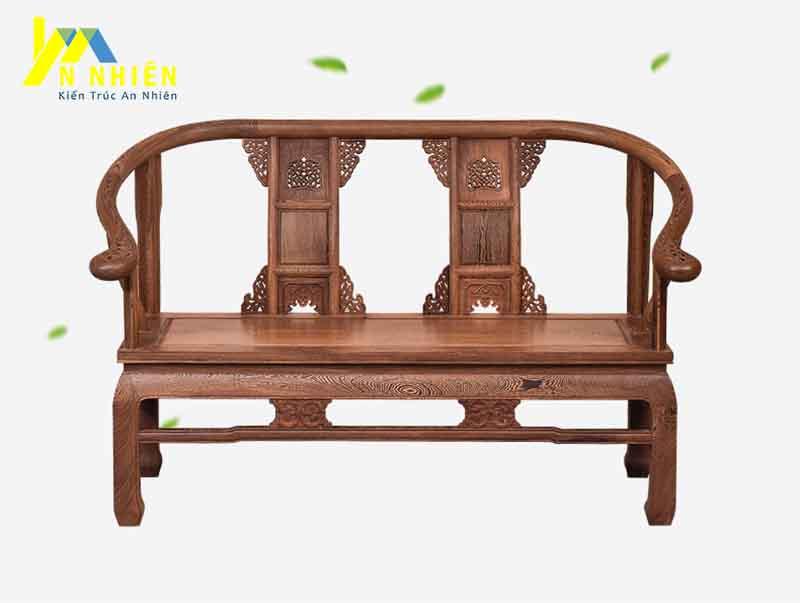 hình ảnh ghế gỗ sồi phòng khách đẹp