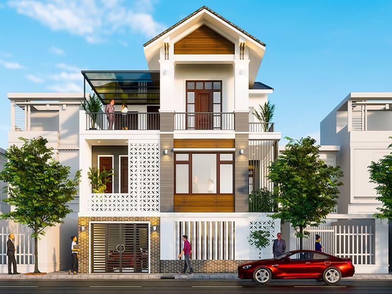 Phương án kiến trúc nhà