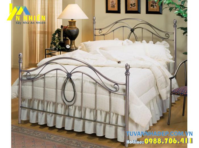 giường đơn đẹp bằng inox