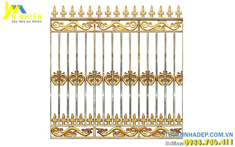 hàng rào bằng nhôm đúc